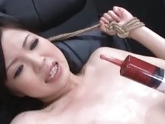 japanese slaving fucking action pour jism over domination bdsm screaming
