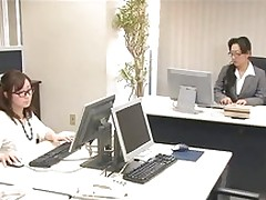 business woman japan fingering covered women glasses japanese masturbation office