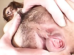 raunchy toko enjoys solo show camera asian fetish hairy japanese
