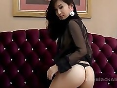 chinese live camera oriental raven model modeling boobs erotic dancing