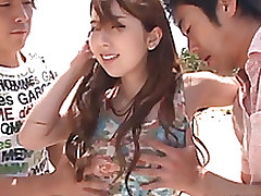 oriental pretty yui hatano group activity beach cumshot hardcore outdoor