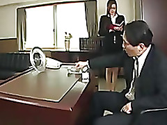 japanese office relations babe boss
