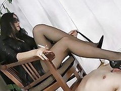 smokin sticky chinese domina asian femdom foot fetish stockings