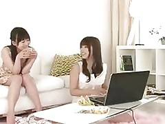 oriental cuties watched wrong film asian japanese lesbians softcore