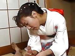 japanese geisha rubbing pecker amateur asian fetish hardcore uniform