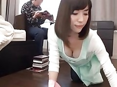 house girl helps cleaning larger quantity censored ctoan asian creampie