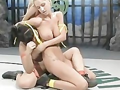 dragonlily vs sammie rhodes hclip ultimatesurrender deviant intense cat fight