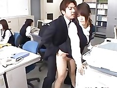 fabulous japanese secretary drilled amateur asian babe boobs group sex