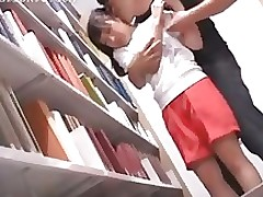fabulous oriental getting moist tit buttons sucked library amateur asian