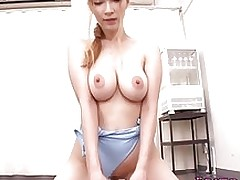 japanese lass tia bejean bonked swimsuit asian pornstars