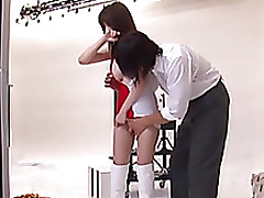 rei ganaha sweaty japanese race lass sexywith largest bumpers blowjob