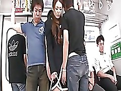 group lustful subway passengers dominate china mim