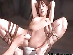 beautiful eastern doll subjugation copulation obtains part5 asian bdsm babe