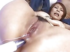 curvy japanese queen dildoed booty uncensored anal asian boobs