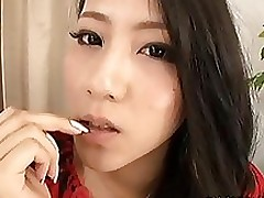 bawdy lass koi azumi enjoys solo session amateur masturbation shaved