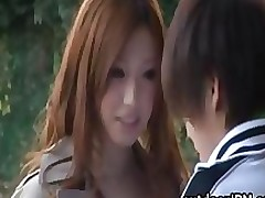 sayama japanese hottie outdoor fucking action part3 asian babe public
