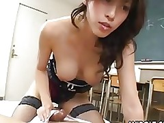 moist japanese angel riko tachibana penetrated student asian boobs blowjob