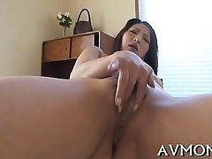 blowjob hardcore shaved asian busty closeup japanese mature milf solo