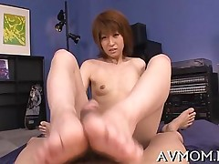 blowjob footjob hardcore asian japanese mature milf wanking